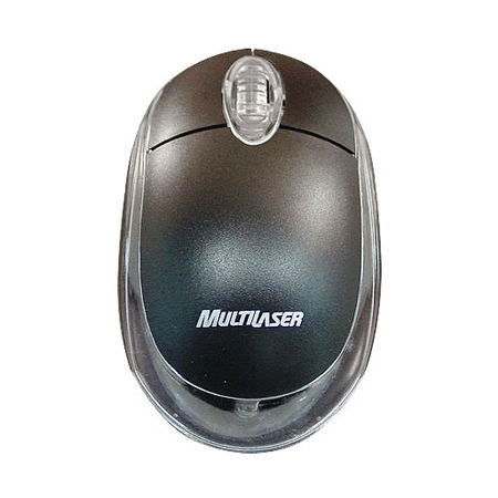 Mouse PS2 Multilaser Preto MO030