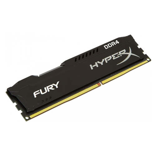 Memória 4GB DDR4 2400 MHz HyperX Fury Blk Kingston